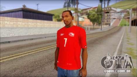 Seleccion Chilena T-Shirt 2010 para GTA San Andreas