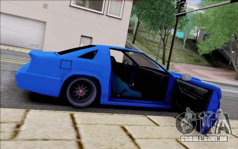 Buffalo Drift Style para GTA San Andreas vista superior
