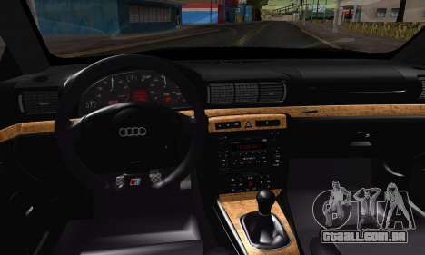 Audi S4 2000 para GTA San Andreas vista direita