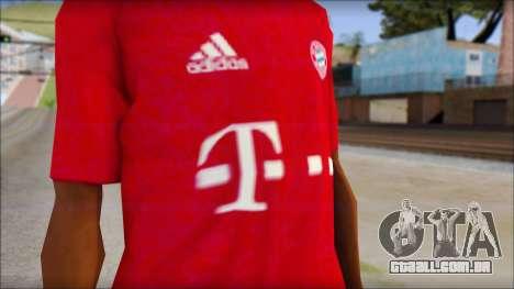 O Bayern De Munique 2013 T-Shirt para GTA San Andreas terceira tela