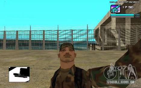 Perfect C-HUD para GTA San Andreas segunda tela