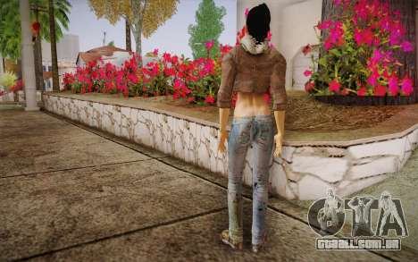 Alyx Vance CM (Adriana Lima) v.1.0 para GTA San Andreas segunda tela