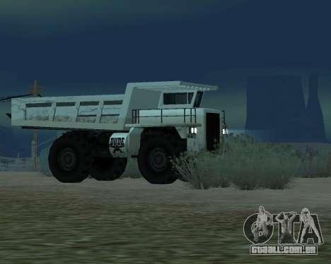 Atualizado Dumper para GTA San Andreas vista direita