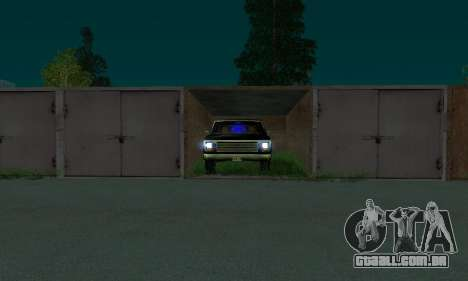 New FBI Rancher para GTA San Andreas vista direita