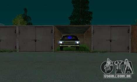 New FBI Rancher para GTA San Andreas vista direita