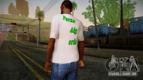 Keep Calm and Love Shirt para GTA San Andreas segunda tela