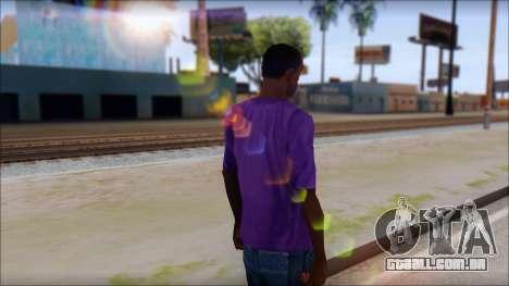 Dropdead T-Shirt para GTA San Andreas segunda tela