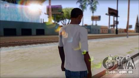 Muse Resistance T-Shirt para GTA San Andreas segunda tela