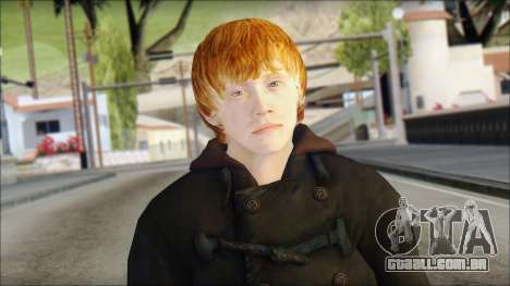Ron Weasley para GTA San Andreas terceira tela