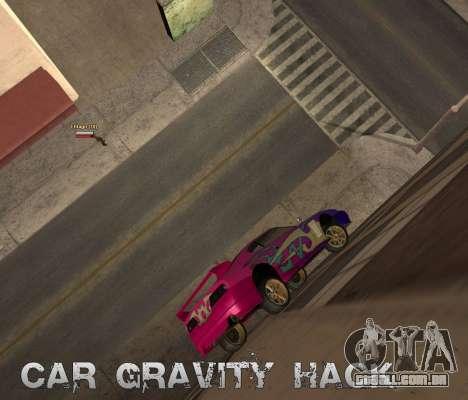 Car Grav Hack para GTA San Andreas segunda tela
