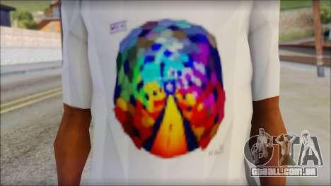 Muse Resistance T-Shirt para GTA San Andreas terceira tela