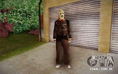 Corey Taylor Skin para GTA San Andreas