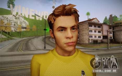 James T. Kirk From Star Trek para GTA San Andreas terceira tela