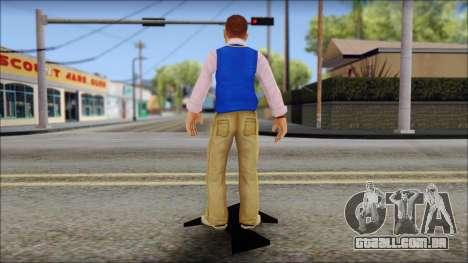 Petey from Bully Scholarship Edition para GTA San Andreas terceira tela