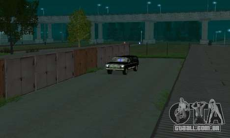 New FBI Rancher para GTA San Andreas vista traseira