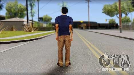 Jason Brody para GTA San Andreas segunda tela