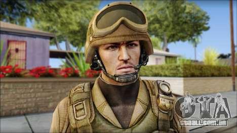Desert Gafe Soldier Front 2 para GTA San Andreas terceira tela