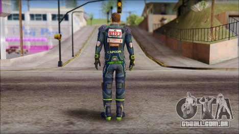 Piers Azul no Gorra para GTA San Andreas segunda tela