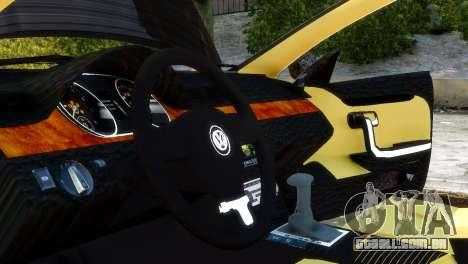 Volkswagen CC para GTA 4 vista direita
