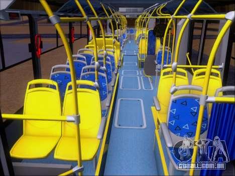 Neobus Mega BRT Volvo B12M-340M para GTA San Andreas vista superior