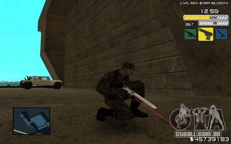 C-HUD by SampHack v.9 para GTA San Andreas
