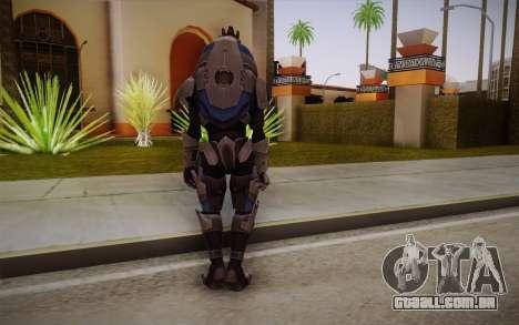 Garrus from Mass Effect 3 para GTA San Andreas segunda tela