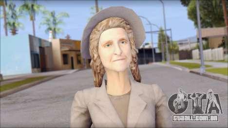 Old Lady para GTA San Andreas terceira tela