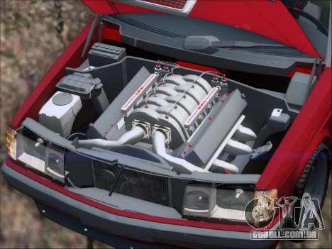 Mercedes Benz 190E Drift V8 para o motor de GTA San Andreas