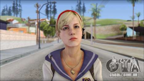 Sherry Birkin Mercenaries from Resident Evil 6 para GTA San Andreas terceira tela