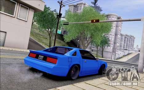Buffalo Drift Style para GTA San Andreas vista traseira