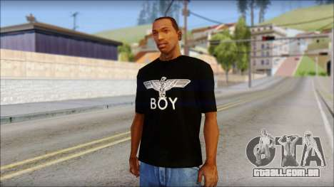 Boy Eagle T-Shirt para GTA San Andreas