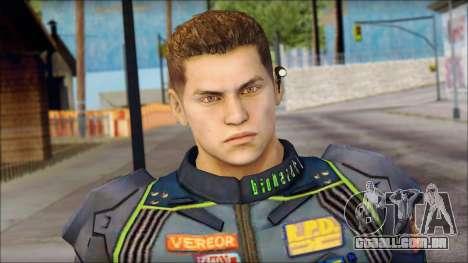 Piers Azul no Gorra para GTA San Andreas terceira tela