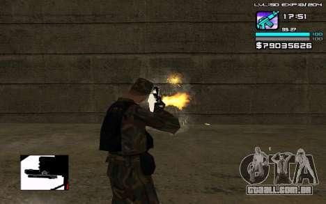 Perfect C-HUD para GTA San Andreas terceira tela