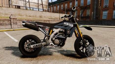 Yamaha YZF-450 v1.17 para GTA 4 esquerda vista