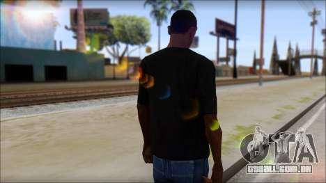 BrainoNimbus T-Shirt para GTA San Andreas segunda tela