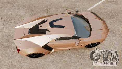 Lykan HyperSport para GTA 4 vista direita