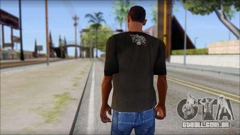 New Ecko T-Shirt para GTA San Andreas segunda tela