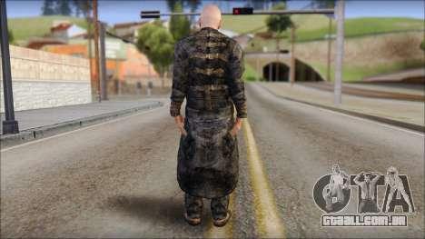 Father Martrin From Outlast para GTA San Andreas segunda tela