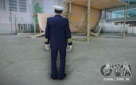 Commercial Airline Pilot from GTA IV para GTA San Andreas segunda tela