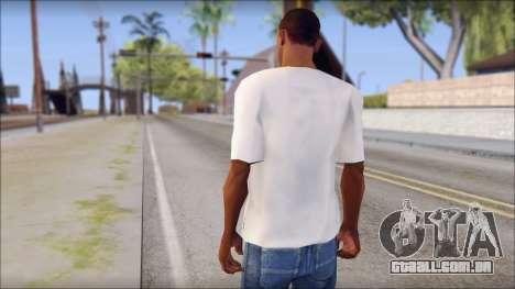 Manchester United Shirt para GTA San Andreas segunda tela