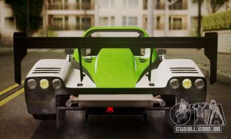 Radical SR8 Supersport 2010 para GTA San Andreas vista interior