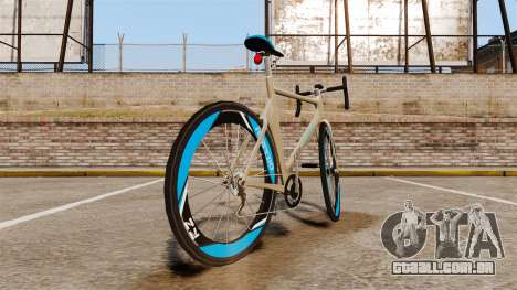 GTA V Tri-Cycles Race Bike para GTA 4 traseira esquerda vista