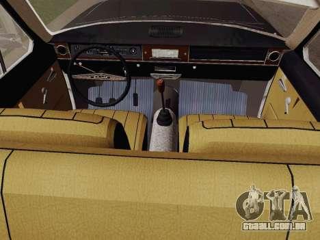 GÁS 24-01 de Limusina para GTA San Andreas vista direita