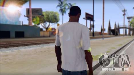 Rise Against T-Shirt V2.1 para GTA San Andreas segunda tela