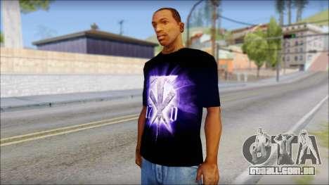 Wrestle Mania T-Shirt v1 para GTA San Andreas