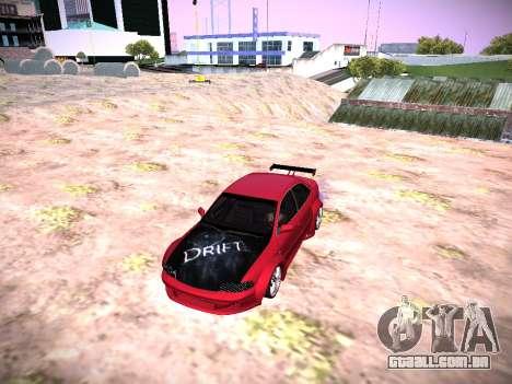 Audi A4 Extrema para GTA San Andreas traseira esquerda vista