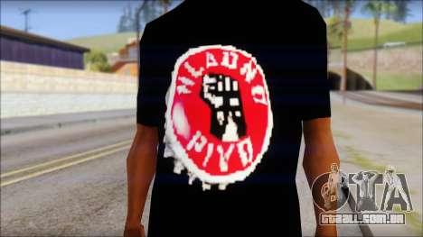 Hladno Pivo T-Shirt para GTA San Andreas terceira tela