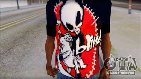 Blind Shirt para GTA San Andreas terceira tela