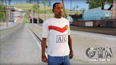 Manchester United Shirt para GTA San Andreas