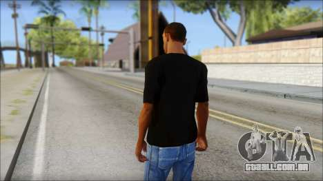 Infected Rain T-Shirt para GTA San Andreas segunda tela